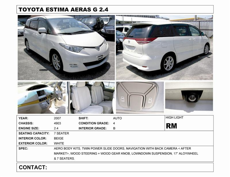 estima cars for sale in malaysia mudahmy models and cars for sale