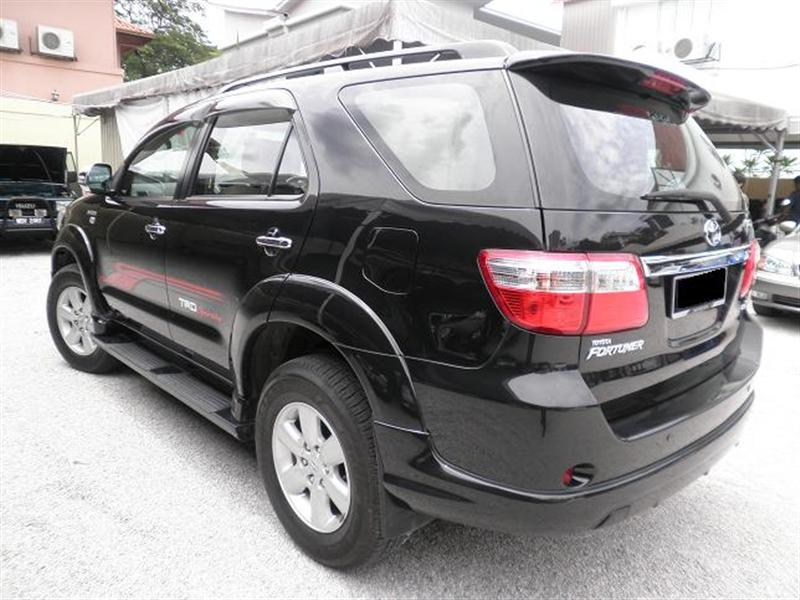 Used 2009 Toyota Fortuner For Sale Ad 2544 Malaysia